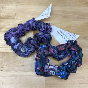 Lululemon Uplifting Scrunchies - Set of 2 - NWT